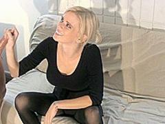 Vanessa Vixon Milks The Brush Roommate adjacent to CBT Pastime